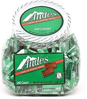 Andes Crème de Menthe Thin Mints, 240 Piece Tub