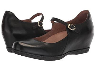 Dansko Loralie (Black/Black Burnished Nubuck) Women