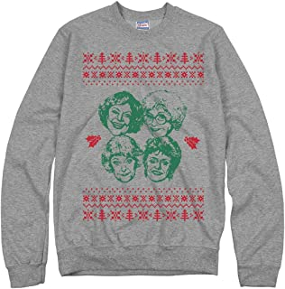 Simple Golden Girls Ugly Sweater: Unisex Ultimate Crewneck Sweatshirt