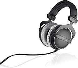 beyerdynamic DT 770 PRO 250 Ohm Over-Ear Studio Headphones in Black. Closed Construction, Wired for Studio use, Ideal for ...