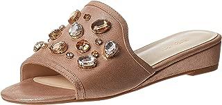 Ninewest Tuchi Comfort Sandals For Women - Rose Gold, 38.5 EU