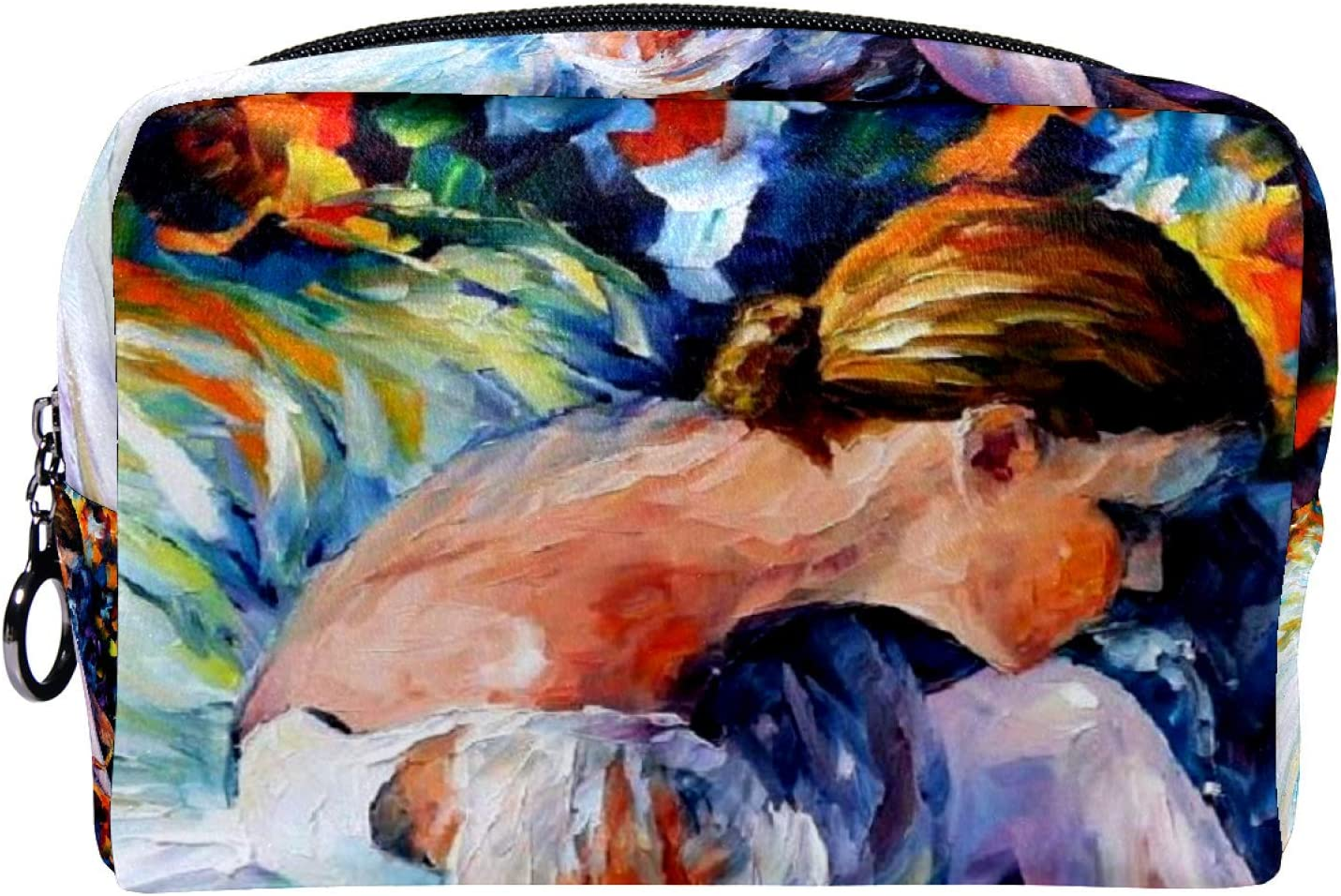 Makeup Toiletry Bag Fresno Mall for Women Travel Max 48% OFF Purse Kit Cosmetic Organize