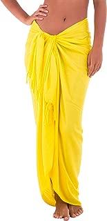 Best yellow sarong skirt Reviews