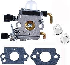 LUOJIA Carburetor fits for stihl FS38 FS45 FS46 FS55 FS55R C1Q-S71 Compatible with C1Q-S97 A C1Q-S143 C1Q-S153 C1Q-S186 4137-120-0606
