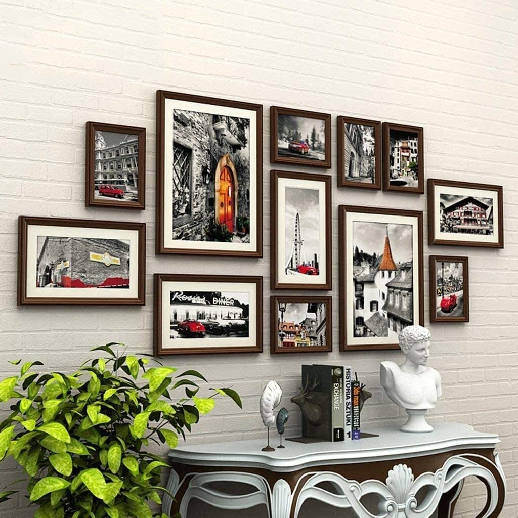 COLOM Photo Max 86% OFF Frame Denver Mall Collage Set-Wall- Picture Set Wood