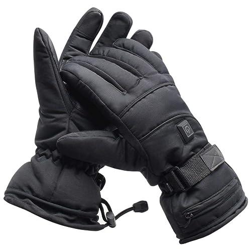 e3b39dcba5 Greensha 充電式 手袋 ヒーター手袋 電熱グローブ 電熱手袋 電気手袋 おてての