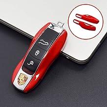Bianco lucido cover chiave telecomando per Porsche case Shell ...