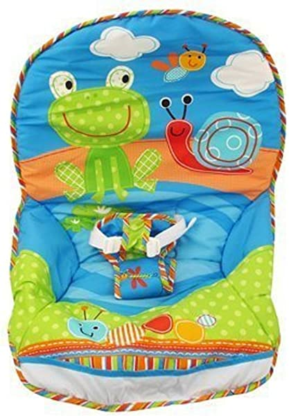 Fisher Price Infant To Toddler Rocker Frog Snail Print Replacement Pad