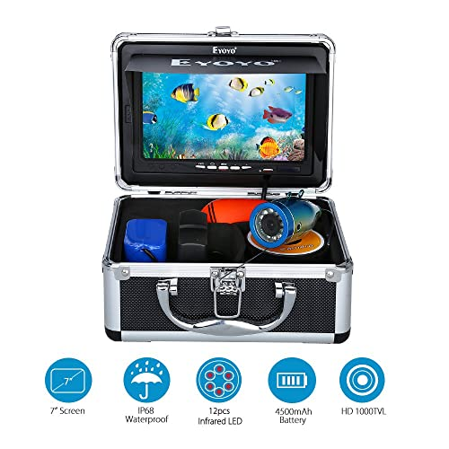 video Reco Computers/tablets & Networking 3d Printer Consumables Underwater Fishing Camera With 7 Inch Monitor And Hard Carrying Case
