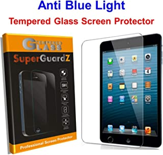 for iPad 10.2 (7th Gen, 2019) Screen Protector Tempered Glass Anti Blue Light [Eye Protection], SuperGuardZ, Anti-Scratch [Lifetime Replacement]