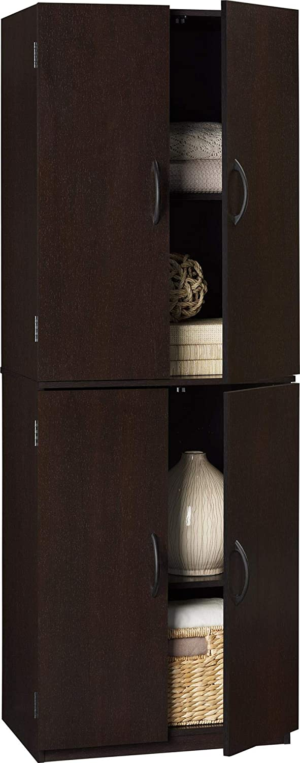 Mainstay Max 53% OFF Storage Cabinet Multiple Finishes Cherry 5 ☆ very popular Cinnamon