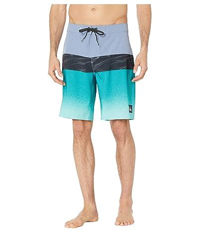 Quiksilver Highline Hold Down 20 Boardshorts (Stone Wash) Men