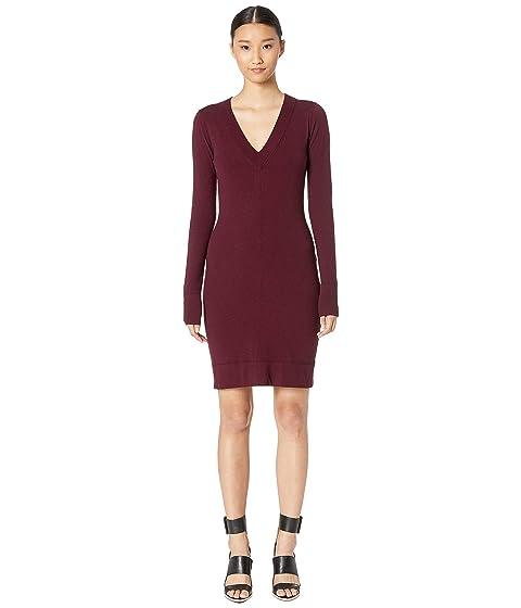 GREY Jason Wu Wizard Knit V-Neck Day Dress