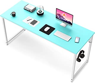 Computer Desk, 47 inch Blue Desk for Study Writing...