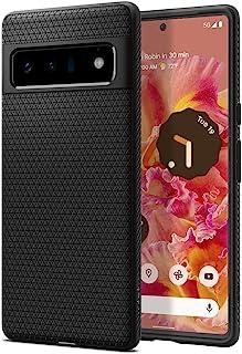 Spigen Liquid Air hoesje Compatibel met Google Pixel 6 Pro -Zwart