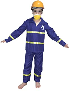 Fire Man Fancy Dress For Kids,Our Helper Costume for Annual Function