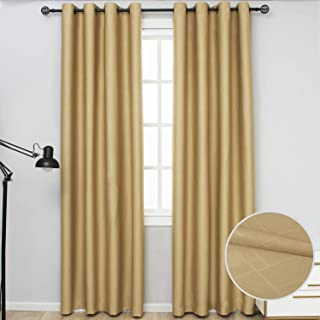 Best embossed blackout curtains Reviews