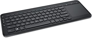 لوحة مفاتيح مايكروسوفت اللاسلكية الكل في واحد (N9Z-0001) , اسود