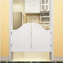 Swinging Cafe Doors, Massief Houten Cowboy Door Swing Door Bar Partition Half Waist Door White, Aanpasbaar (Kleur: A, Afme...