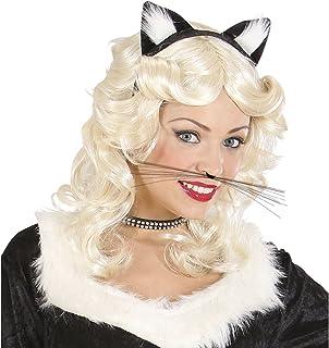 NET TOYS Moustaches de Chat Moustaches de Chat Souris Moustache léopard Animal Accessoire Carnaval déguisement Costume