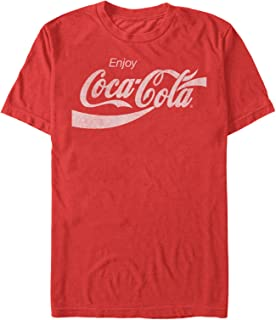 Coca Cola Men's Enjoy Logo T-Shirt