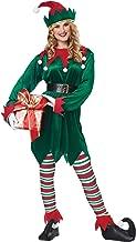 California Costumes Christmas Elf Adult, Green/Red, Small/Medium