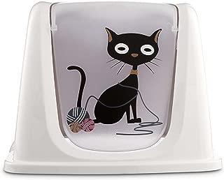 So Phresh Funny Cat Litter Box Privacy Hood