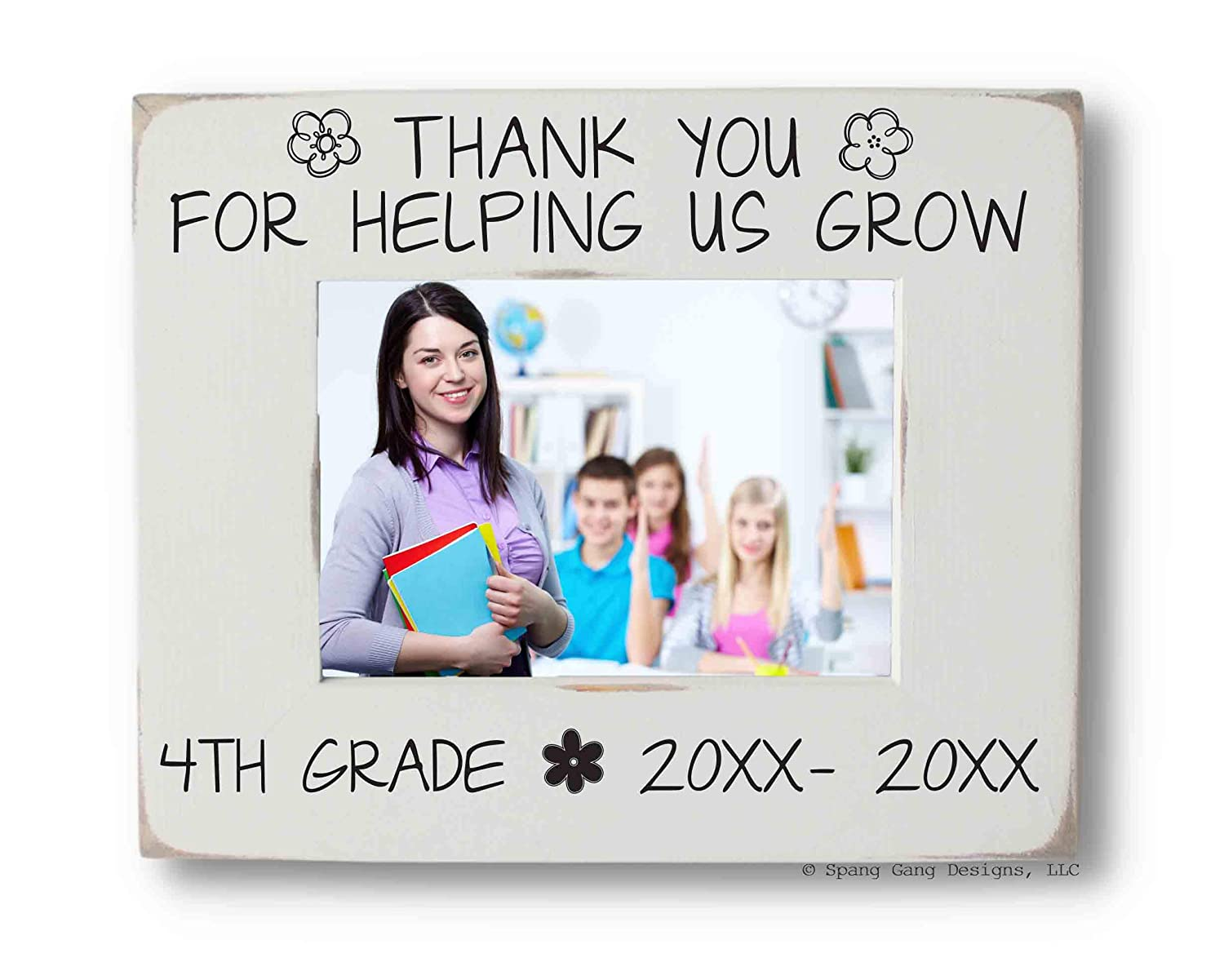 Teacher's Photo Frame Limited time cheap sale Personalized fits Ranking TOP16 Picture or 4x6