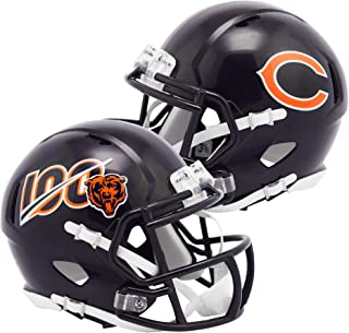 Riddell Chicago Bears NFL 100 Speed Mini Helmet - NFL Mini Helmets