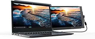 """Duex Pro Portable Monitor, The On-The-Go Dual-Screen Laptop Monitor, 12.5"""" Full HD IPS Display, USB A/Type-C, Plug and Pla..."""