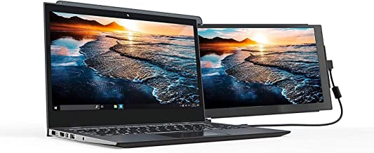 Duex Pro Portable Monitor (Upgraded 2.0 Version), The On-The-Go Dual-Screen Laptop..