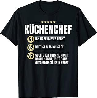 Meine Küche Herren T-Shirt Totenkopf Küchen Chef Koch Hobbykoch Kochen Lustig