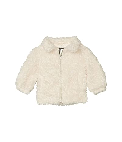 COTTON ON Tash Teddy Slouch Jacket (Little Kids) (Cream) Girl