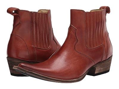 Massimo Matteo El Padrino Pointy Toe Boot (Chocolate Leather) Men