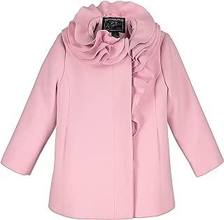 rothschild pink wool coat