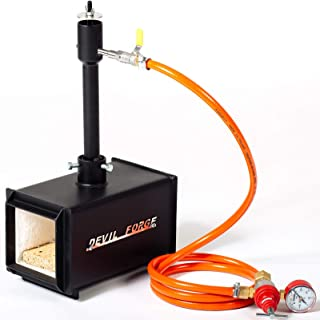 comprar comparacion Forja de gas propano, fabricación de cuchillos, Herrero, horno, quemador | DFPROF1 | Gas Propane Forge