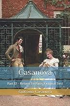 Casanova: Part 12 - Return To Paris: Original Text