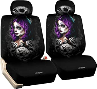 car seat covers with skulls