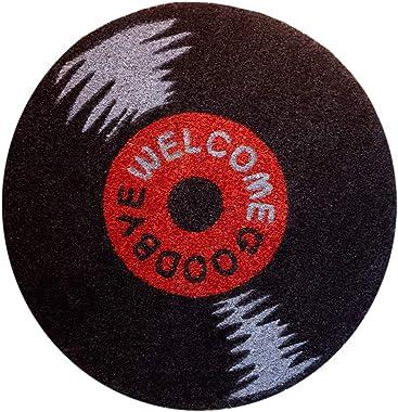 Grupo Erik Paillasson Exterieur Disque Vinyle | Tapis Antidérapant, Tapis d'entrée Original | 60 x 60 cm FGE0028