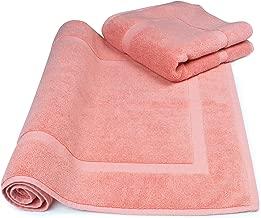 SALBAKOS Luxury Hotel and Spa 100% Turkish Cotton Banded Panel Bath Mat Set 900gsm! 20