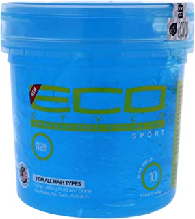 Ecoco - Eco Style Gel - Sport - For All Hair Types - Long Lasting Hold and Shine - No Flakes - No Tack - Anti Itch - Alcoh...