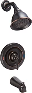 Moen 82494EPBRB Posi-Temp Pressure Balanced Tub and Shower Trim, Mediterranean Bronze