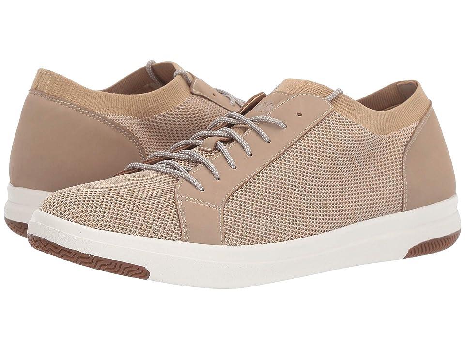 Dockers Franklin Smart Series Knit Sneaker with Smart 360 Flex and NeverWet (Oatmeal Marbled Knit/Nubuck) Men