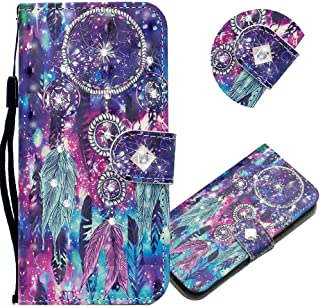 EMAXELER Galaxy A11 Case 3D Creative Pattern PU Leather Wallet Diamond Case Bookstyle Flip Stand Card Holder Shockproof Ma...