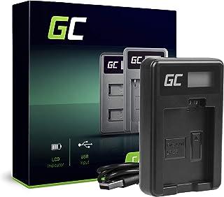 Green Cell® CBC-E5 LC-E5 Cargador para Canon LP-E5 Batería y EOS 450D 500D 1000D Kiss F X2 X3 Rebel T1i XS XSi Cámaras (5W 8.4V 0.6A Negro)