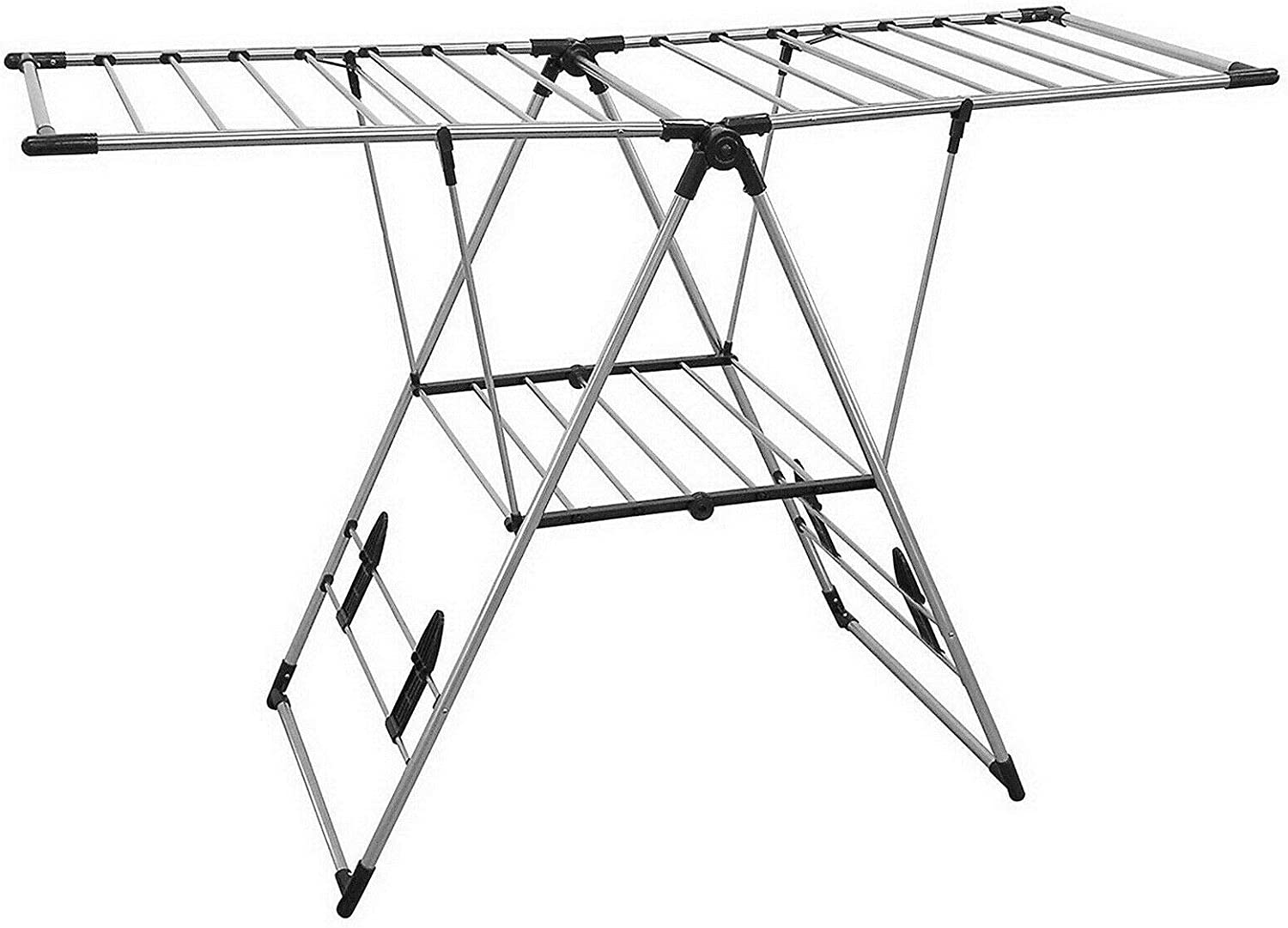 Large Manufacturer regenerated product Stainless Steel Laundry Clothes In Drying Rack Clothesline 25% OFF