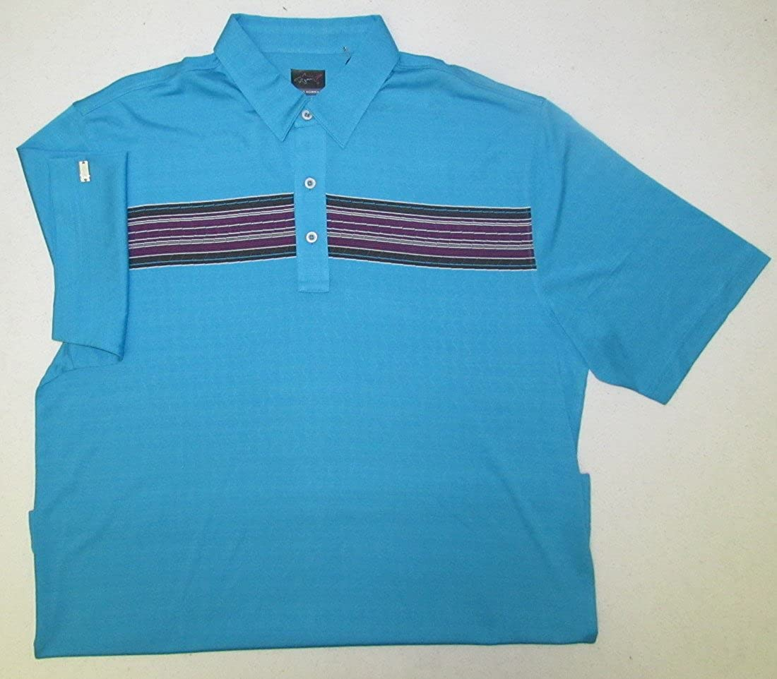 Greg Norman Collection Men's Wright Jacquard Polo Shirt