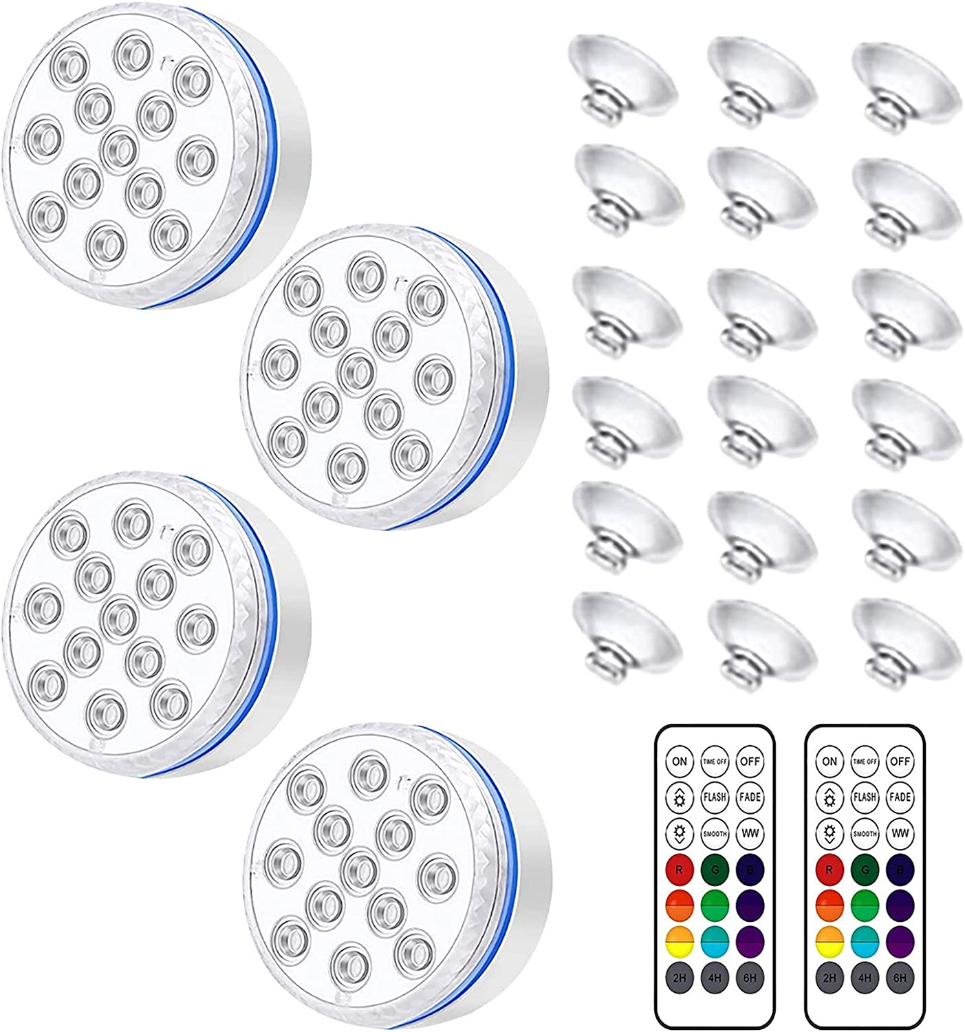 ChoZear Submersible Led Lights Colors Max 81% OFF Pond Popularity Underwater 16