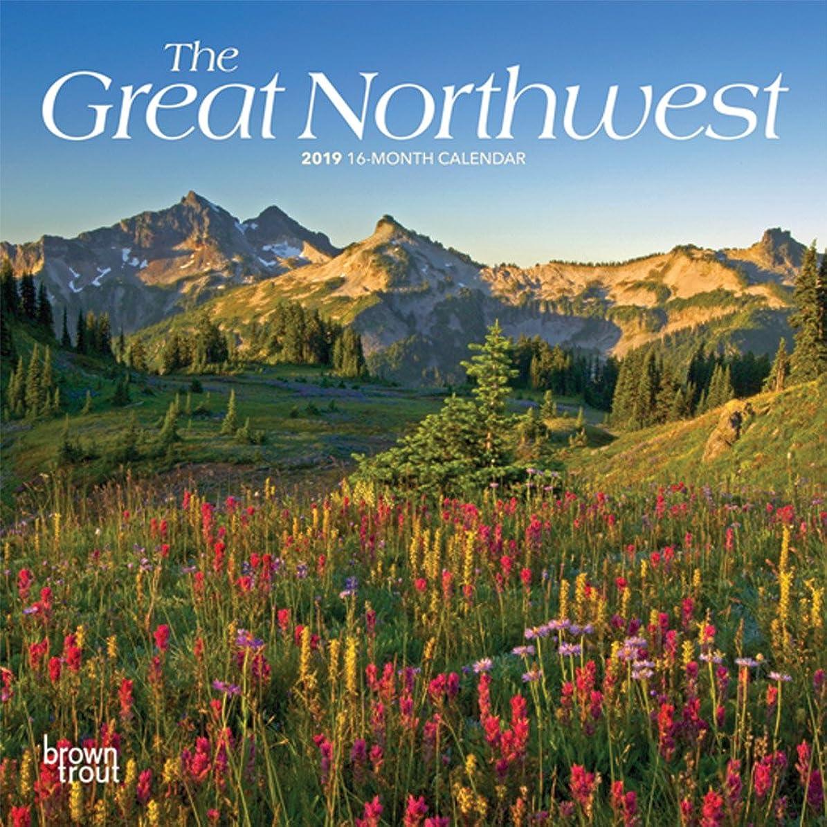 宇宙飛行士楽なトロリーThe Great Northwest 2019 Calendar