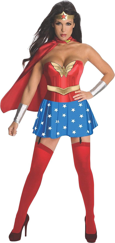 a la venta Rubies Disfraz de Wonder Woman Woman Woman oficial con corsé para adultos  punto de venta